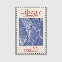 アメリカ 1986年自由の女神100年