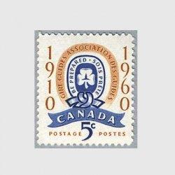 カナダ 1960年ガールガイド50年