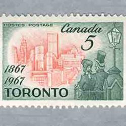 カナダ 1967年州都トロント100年