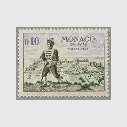モナコ 1960年15-16世紀の武装した使者