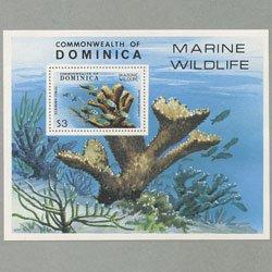 ドミニカ国  1979年自然保護小型シート