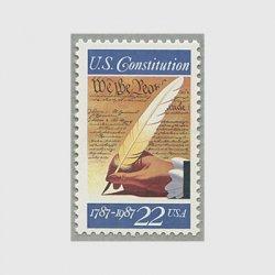 アメリカ 1987年アメリカ合衆国憲法200年