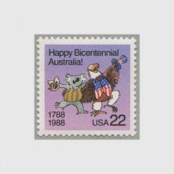 アメリカ 1988年イギリスのオーストラリア入植200年