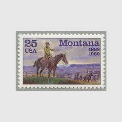 アメリカ 1989年モンタナ州100年