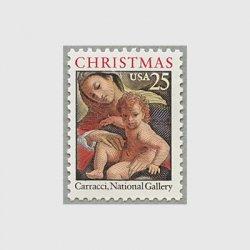 アメリカ 1989年クリスマス聖母子