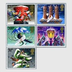 イギリス 1983年クリスマス5種