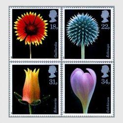 イギリス 1987年花4種