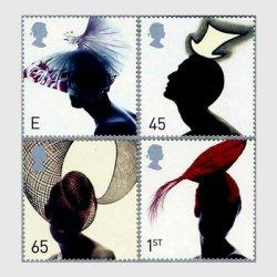 イギリス 2001年帽子4種