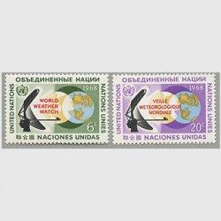 国連 1968年世界気象監視計画(WWW)2種