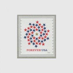 アメリカ 2016年普通切手・スパイラル コイル