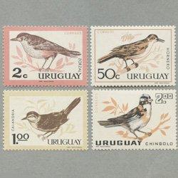 ウルグアイ 1963年鳥4種