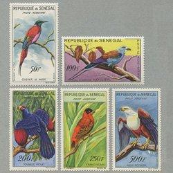 セネガル 1960-63年鳥5種