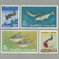 タイ 1967年魚4種