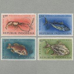 インドネシア 1963年魚介4種
