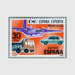スペイン 1981年輸出用の乗物