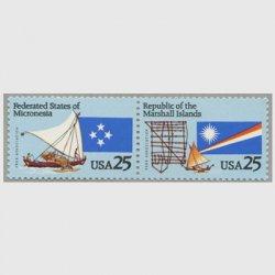 アメリカ 1990年自由連合協定2種連刷