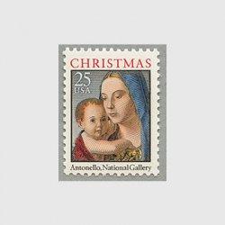 アメリカ 1990年クリスマス 聖母子
