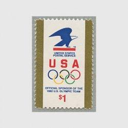 アメリカ 1991年夏期オリンピック大会後援