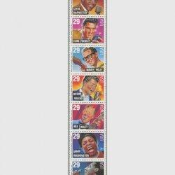アメリカ 1993年ロックンロールとリズム・アンド・ブルース7種連刷