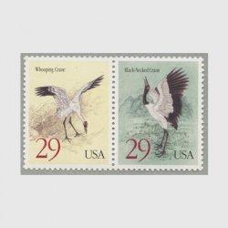 アメリカ 1994年ツル2種連刷