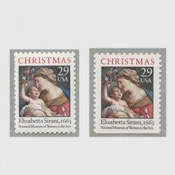 アメリカ 1994年クリスマス聖母子