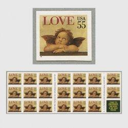 アメリカ 1995年LOVE 天使55c