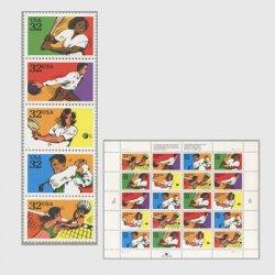アメリカ 1995年娯楽スポーツ5種連刷