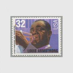 アメリカ 1995年ジャズ・ミュージシャン ルイ・アームストロング