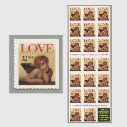 アメリカ 1996年LOVE 天使32cセルフ糊