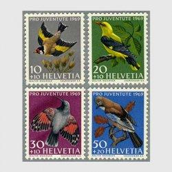 スイス 1969年カケス(50+20c)など4種