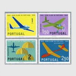 ポルトガル 1960年飛行機クラブ50年4種