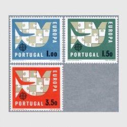 ポルトガル 1963年パズルの鳥3種