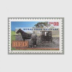 アメリカ 1996年地方地区無料郵便配達100年