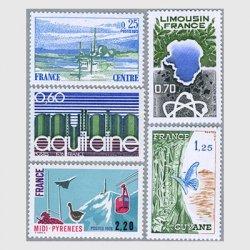 フランス 1976年地方シリーズ5種