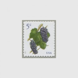 アメリカ 2017年普通切手ブドウ