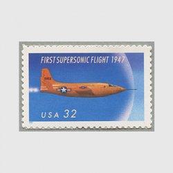 アメリカ 1997年超音速飛行50年