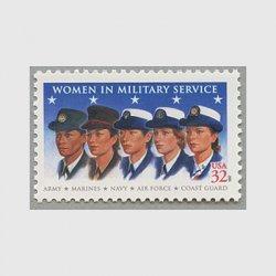 アメリカ 1997年女性の軍人
