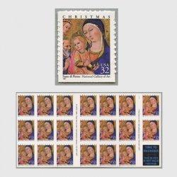 アメリカ 1997年クリスマス 聖母子