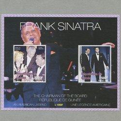 ギニア共和国 1998年フランク・シナトラ小型シート