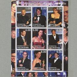 タジキスタン 2001年第73回アカデミー賞受賞