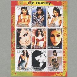 タジキスタン 2000年エリザベス・ハーレイ