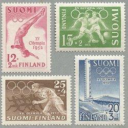 フィンランド 1951-2年第15回ヘルシンキオリンピック4種