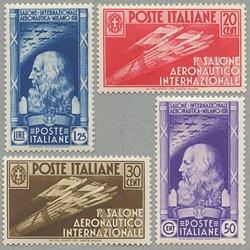 イタリア 1935年ミラノ国際航空サロン4種