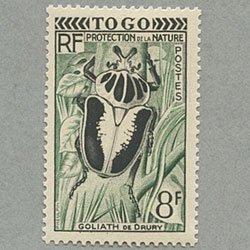 トーゴ 1955年ゴライアスオオツノコカゲ