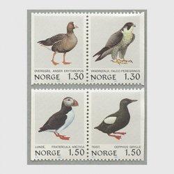 ノルウェー 1981年鳥4種