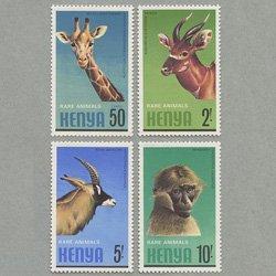 ケニア 1981年動物4種