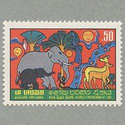スリランカ 1982年世界環境デー
