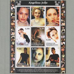 タジキスタン 2001年アンジェリーナ・ジョリー