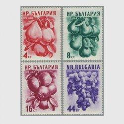 ブルガリア 1956年果実4種※少難品