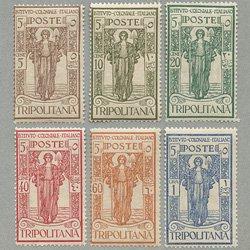 トリポリタニア 1926年平和、剣をすきに持ち替えて6種